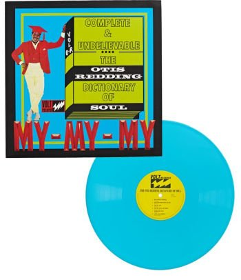 The Otis Redding Dictionary Of Soul Complete & Unbelievable Exclusive Turquoise Vinyl