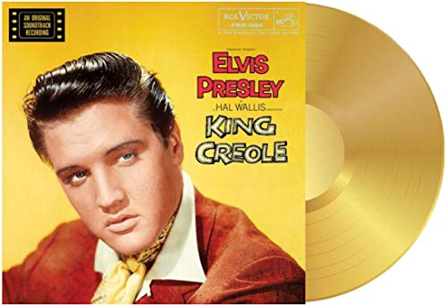 Elvis Presley - King Creole Exclusive Limited Edition 180 Gram Gold Vinyl [Condition VG+NM]