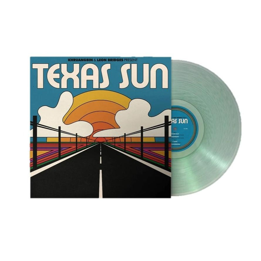 Texas Sun Exclusive Coke Bottle Clear Vinyl [Club Edition] Khruangbin, Leon Bridges