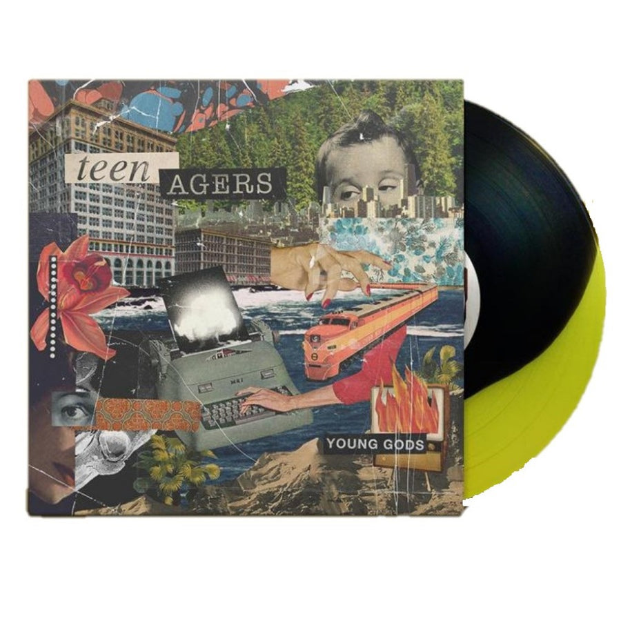 Teen Agers – Young Gods Exclusive Limited Edition Black/Yellow Vinyl LP Record