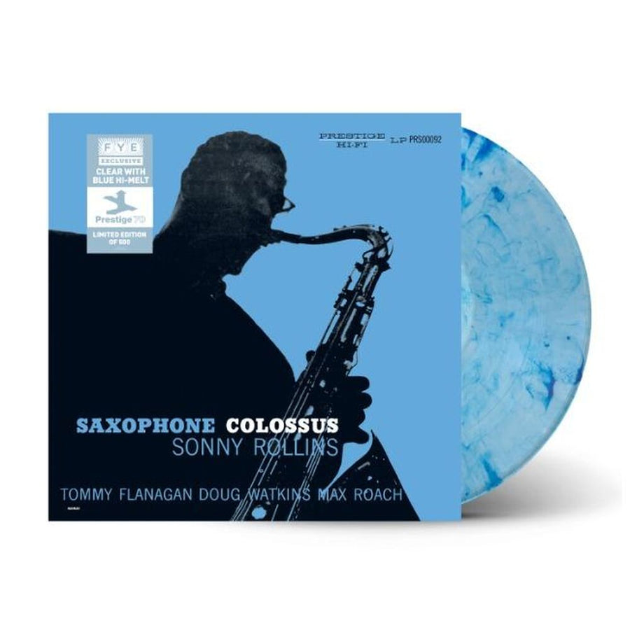 Sonny Rollins - Saxophone Colossus Exclusive Clear Vinyl with Blue Hi-Melt VG+