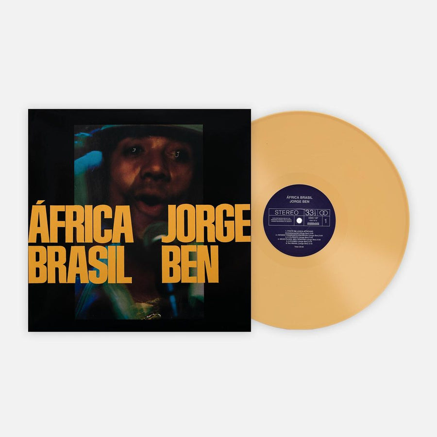 Jorge Ben - África Brasil Exclusive Yellow Color Vinyl Limited Club Edition