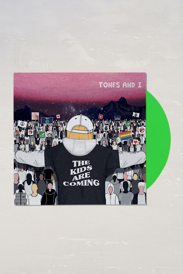 Tones and I - The Kids Are Coming Limited Edition Exclusive Green Vinyl VG+NM