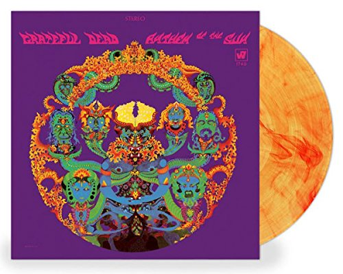 Grateful Dead - Anthem of the Sun 50th Annivesary Exclusive Edition Yellow With Orange Swirl Vinyl