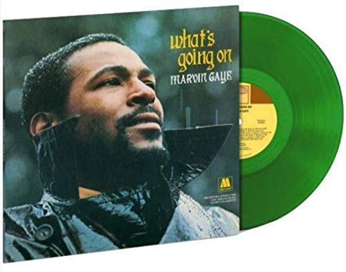 Marvin Gaye – What's Going On (Limited Edition Translucent Green vinyl LP) [vinyl] Marvin Gaye