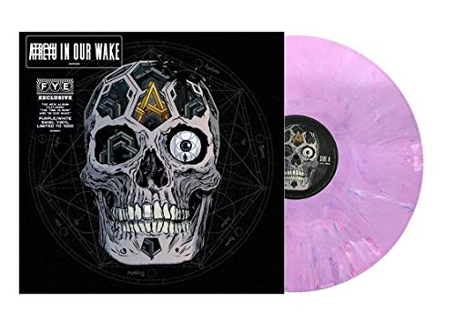 Atreyu - In Our Wake Exclusive Limited Edition Purple & White Swirl Vinyl LP Album