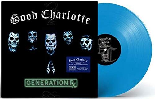 Good Charlotte -  Generation Rx (Exclusive Limited Edition Transparent Blue Vinyl)