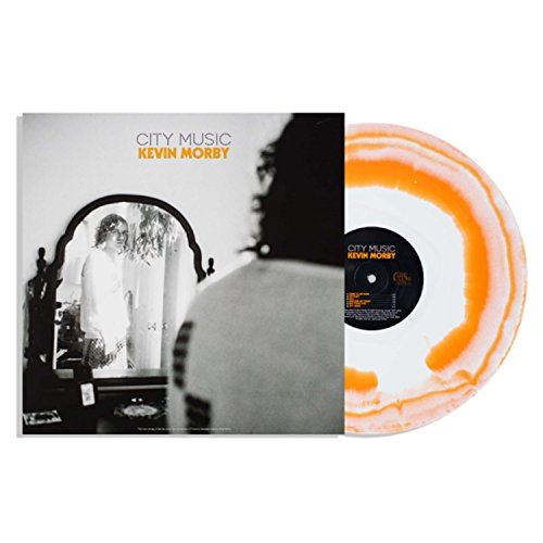 Kevin Morby ‎– City Music Club Edition,  Exclusive White & Orange Blob Tie-Dye Vinyl LP VG+NM