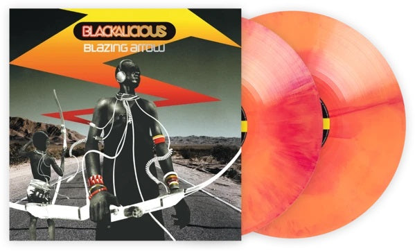 Blackalicious - Blazing Arrow Red / Yellow Blazing Galaxy Exclusive Vinyl Limited Vinyl Me Please Club