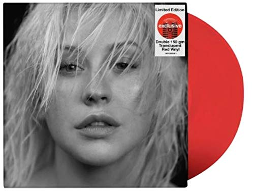 Christina Aguilera ‎– Liberation (Exclusive Double 150g Translucent Red Vinyl)