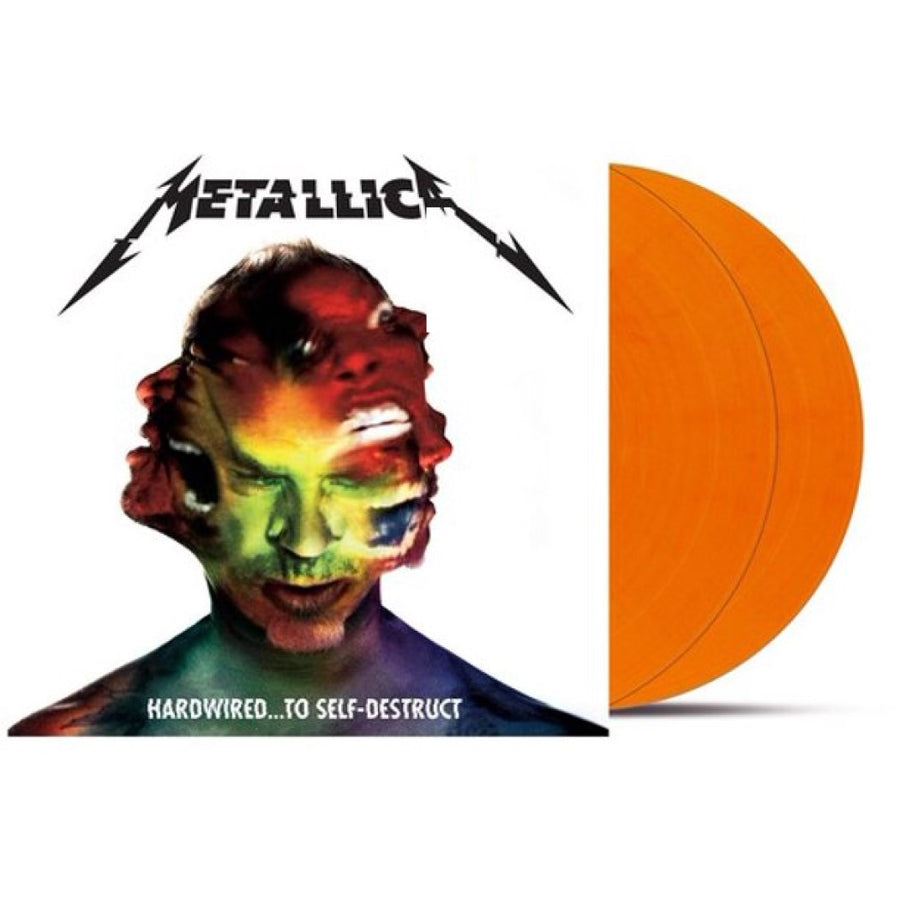 Metallica - Hardwired… To Self-Destruct Exclusive Flame Orange Vinyl 2xLP Record