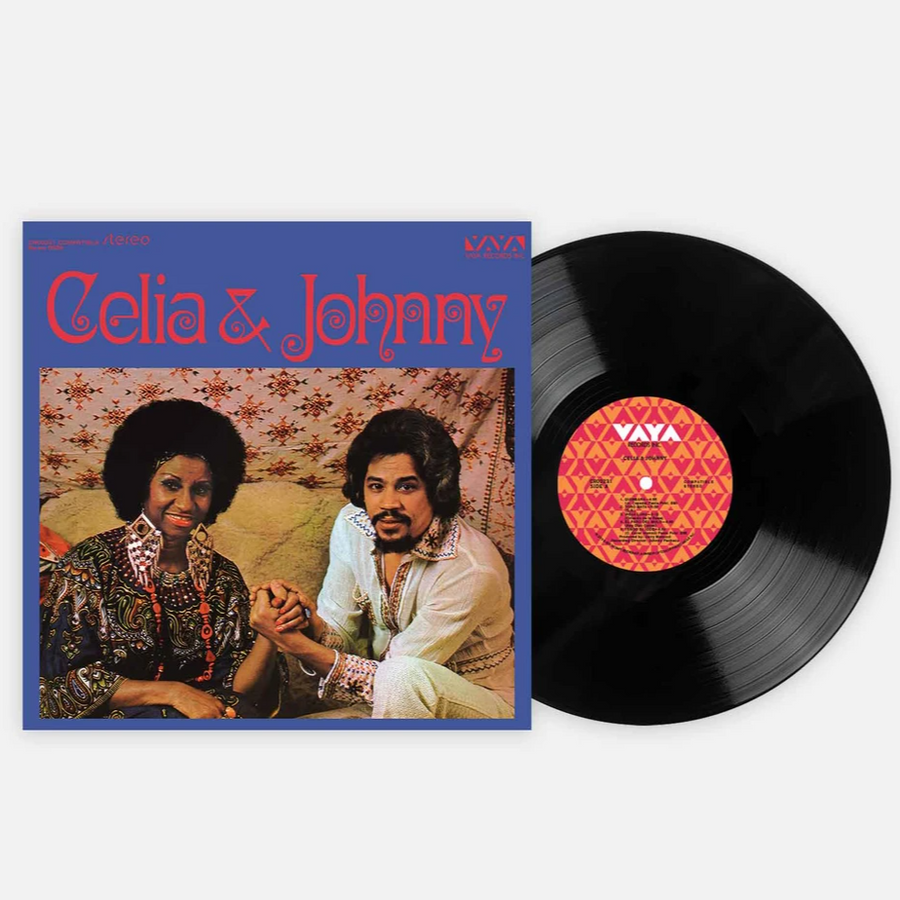 Celia & Johnny - Celia & Johnny Exclusive Black Color Vinyl Lp [Club Edition]
