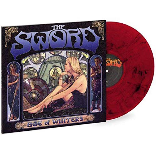The Sword - Age Of Winters Limited edition Red & Black Marbled vinyl LP