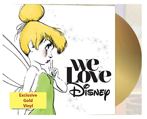 Various Artists - We Love Disney Limited Edition Exclusive Gold Vinyl 2LP [Condition VG+NM]