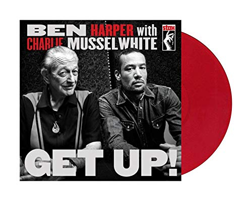 Ben Harper With Charlie Mussel White - Get Up Exclusive Red Color Vinyl LP