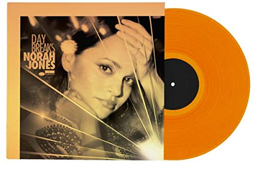 Norah Jones - Day Breaks Exclusive Translucent Orange Color Vinyl LP