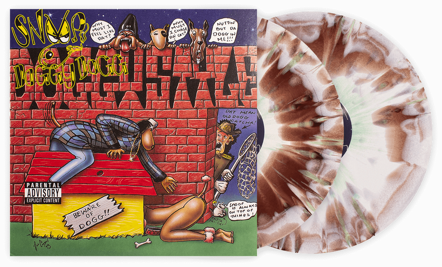 Snoop Doggy Dogg - Doggystyle Exclusive Brown And Minty Color Splatter Vinyl Album