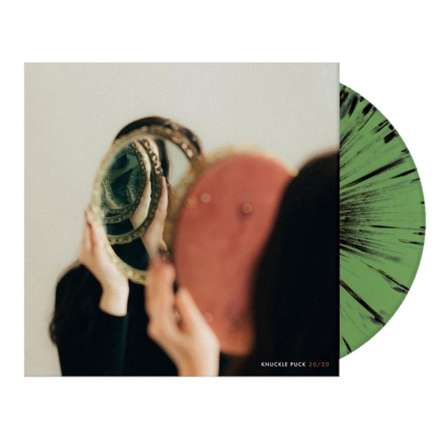 Knuckle Puck 20/20 Exclusive Green with Black Splatter LP Vinyl Record Limited Edition # 333