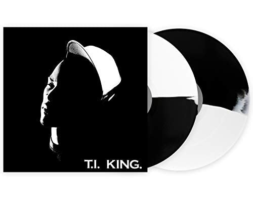 T.I - King Limited Edition Exclusive half White And Black Split 2X Vinyl LP Club Edition