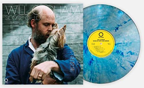Will Oldham – Songs Of Love And Horror (Exclusive Club Edition Clear w/ Blue Hi Melt vinyl)