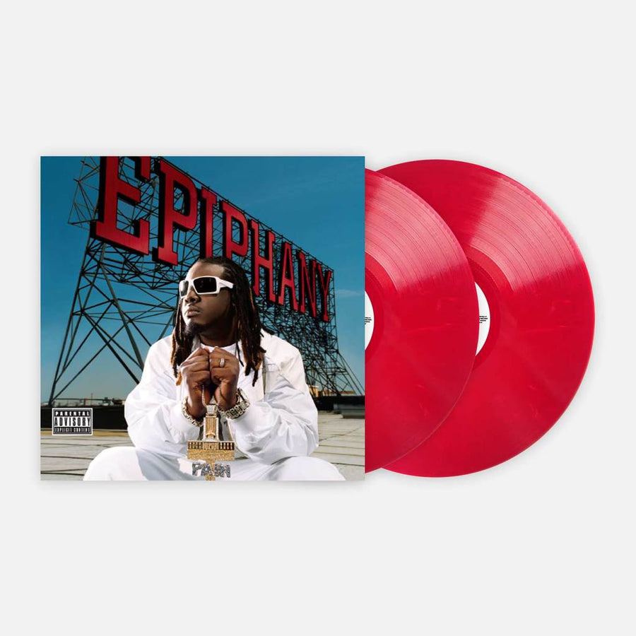 T-PAIN - Epiphany  Exclusive Red Marble Vinyl 2 X LP Limited Edition #1000