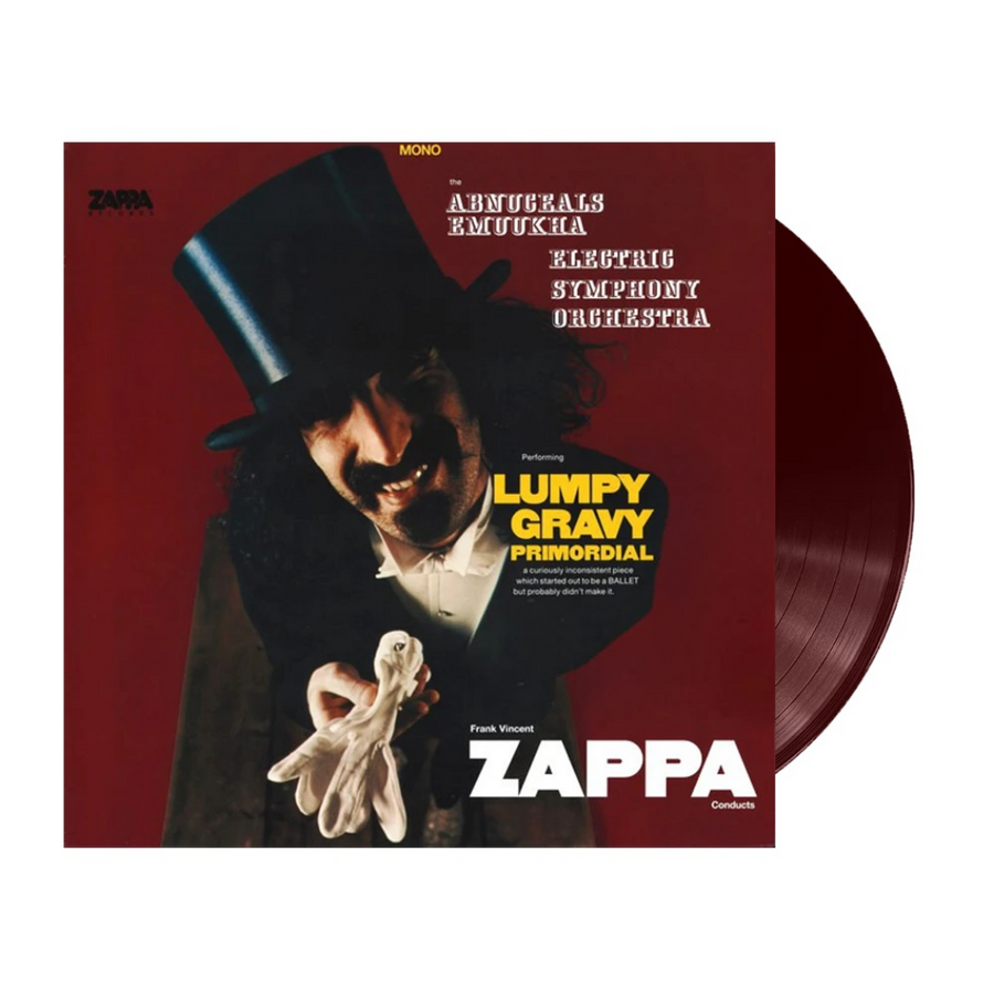 Frank Vincent Zappa* Conducts The Abnuceals Emuukha Electric Symphony Orchestra* ‎– Lumpy Gravy Primordial Limited Edition Burgundy Vinyl LP record