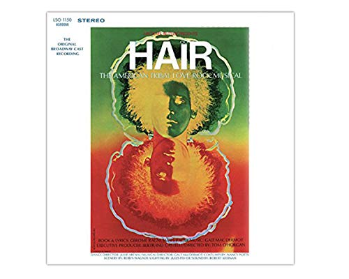 Various Artists- Hair Exclusive LP Original Broadway Cast 180 Gram vinyl LP [Condition VG+NM]