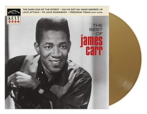 James Carr - The Best of James Carr(Limited Edition - Monostereo Gold Vinyl Exclusive)