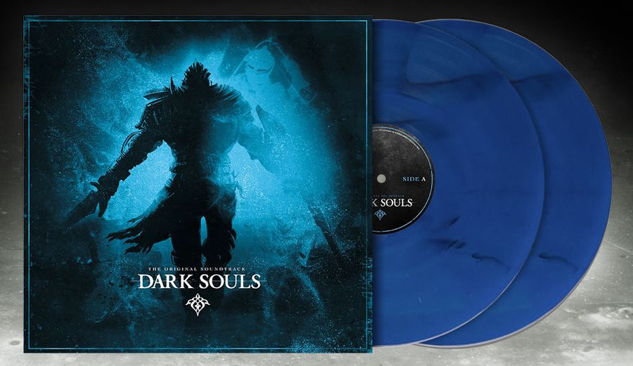 Dark Souls I Limited Edition Exclusive Blue Vinyl Collection 2LP_Record