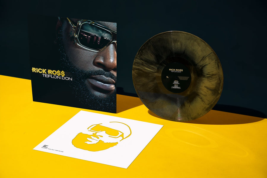 Rick Ross- Teflon Don Exclusive Black And Gold Galaxy Vinyl Album [Club Edition]