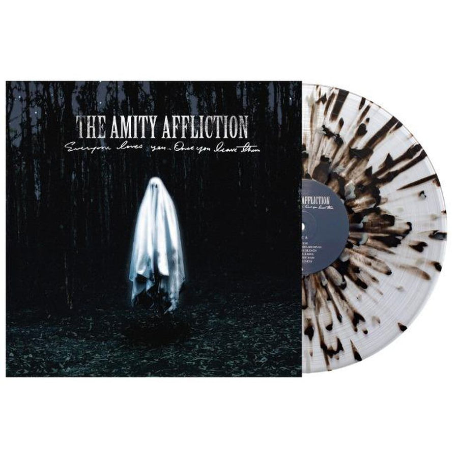 Everyone Loves You... Once You Leave Them Exclusive Clear Vinyl with Heavy Black and Gray Splatter