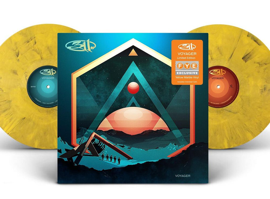 311 - Voyager Exclusive Yellow Marble Vinyl[Condition-VG+NM]
