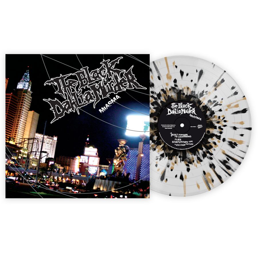The Black Dahlia Murder - Miasma Exclusive Black & Grey Splatter with Clear LP Vinyl [VMP Anthology]