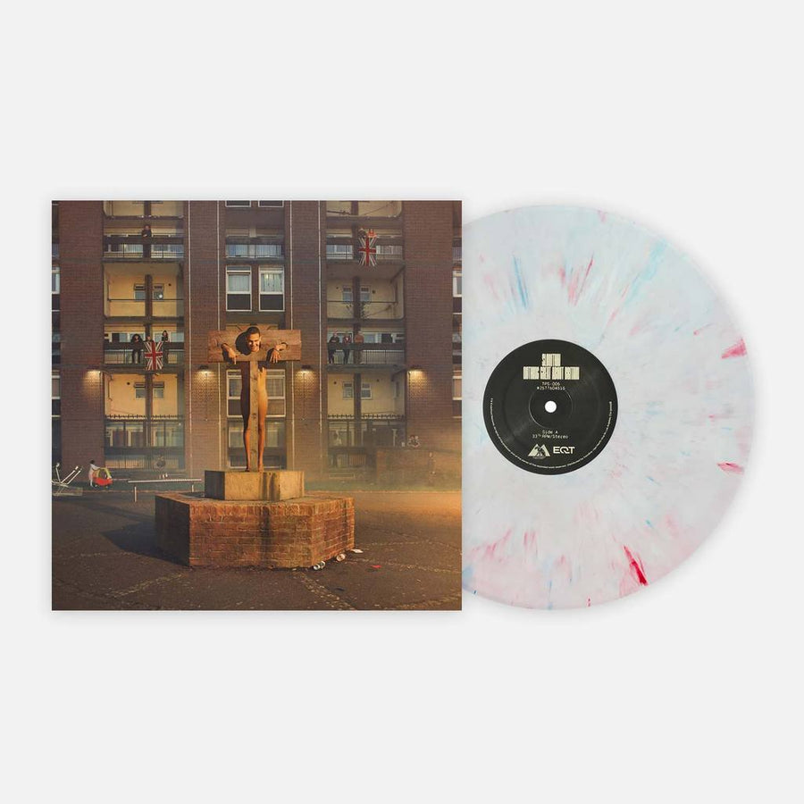 Slowthai - Nothing Great About Britain Exclusive White With Red And Blue Splatter Vinyl Club Edition