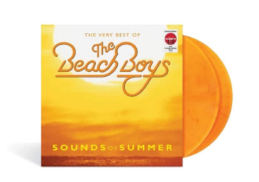 Beach Boys - Sounds Of Summer: The Very Best Of  Exclusive Limited Edition Orange Marble 2x LP Vinyl