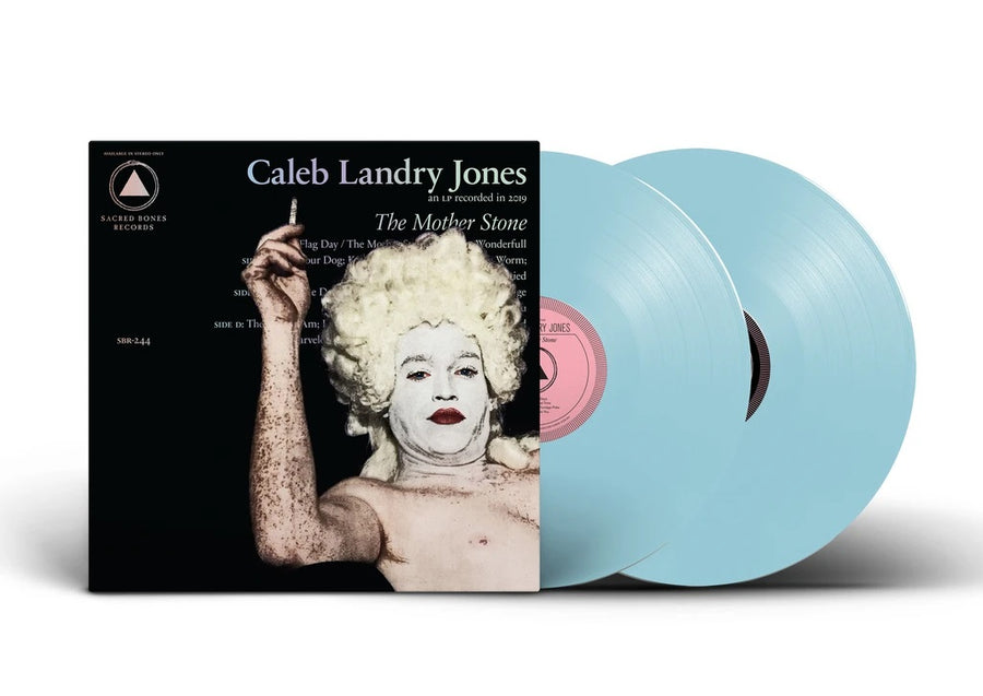 Caleb Landry Jones - The Mother Stone Limited Edition Exclusive Baby Blue Vinyl LP