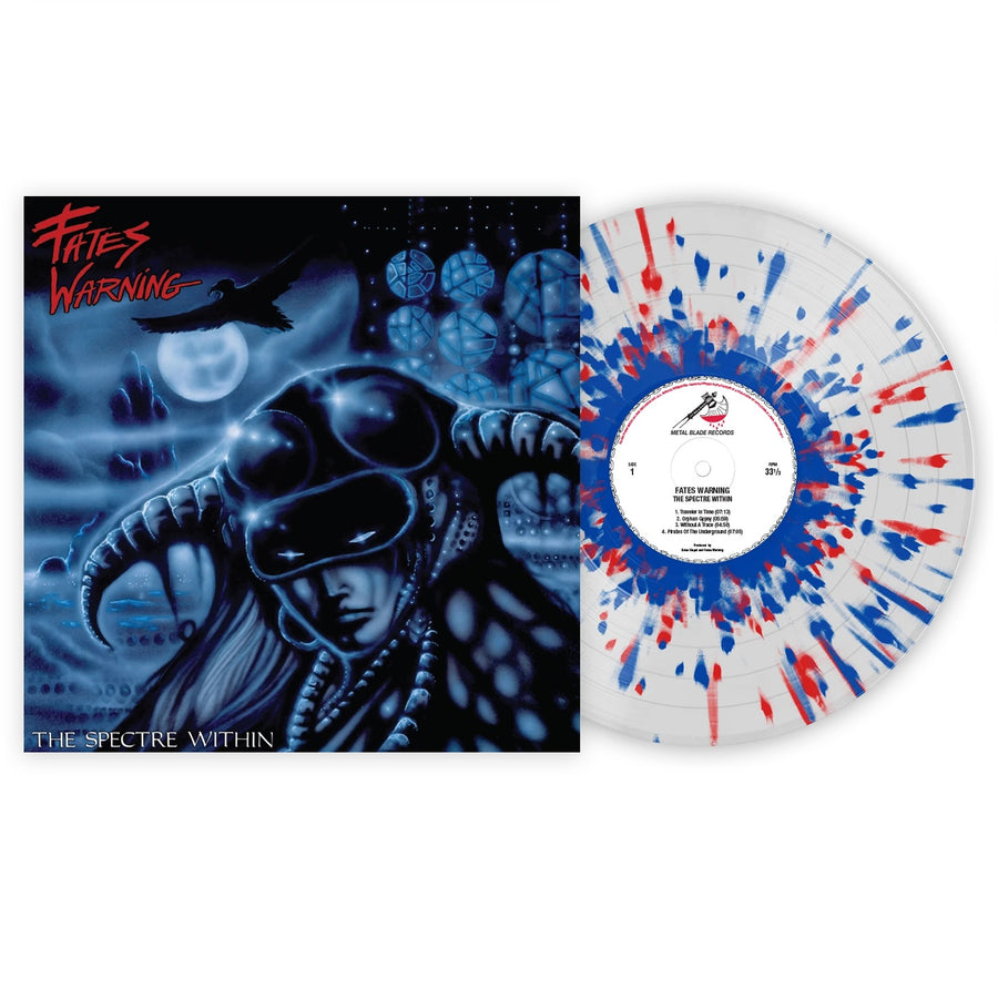 Fates Warning ‎- The Spectre Within Exclusive Red & Blue Splatter with Clear LP Vinyl [VMP Anthology]