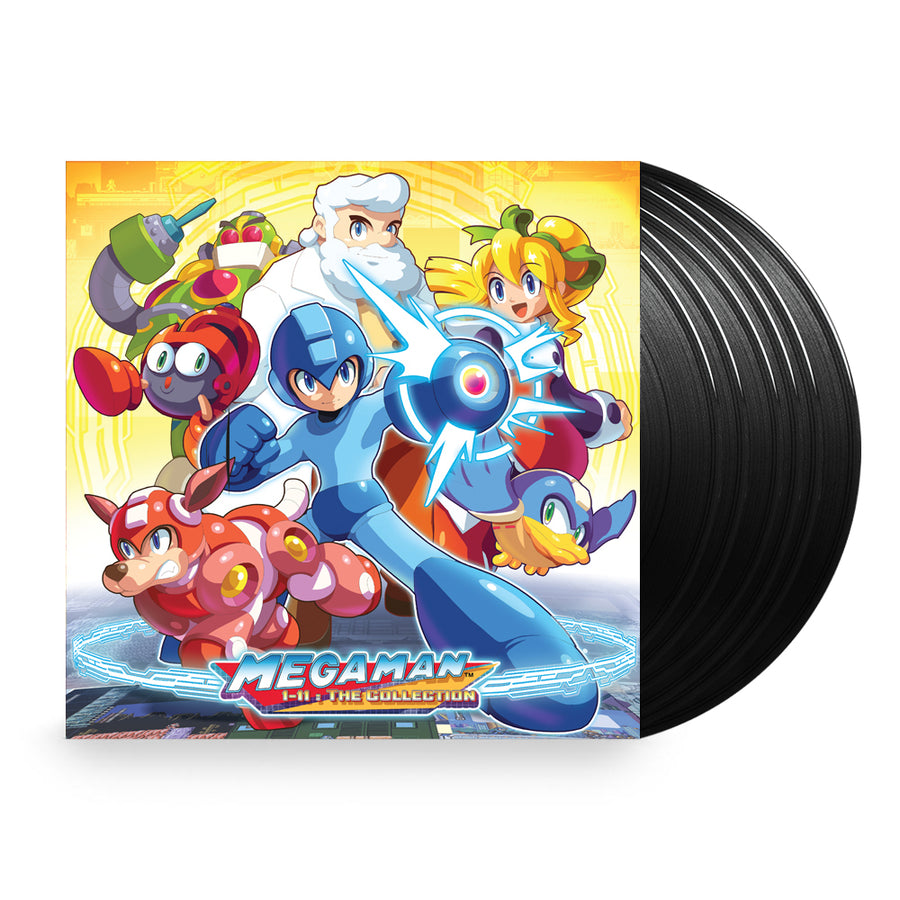 Various Artists - Mega Man 1-11: The Collection 6XLP vinyl Box Game Soundtrack