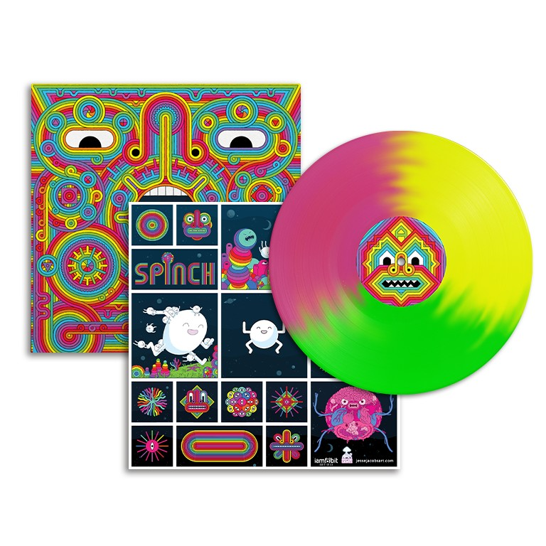 Thesis Sahib - Spinch Exclusive Limited Edition Psychedelic Tricolor LP Vinyl Record