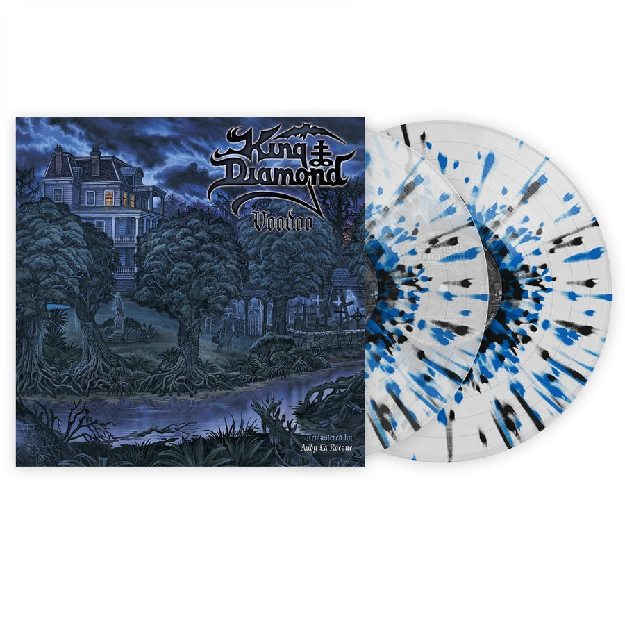 King Diamond - Voodoo Exclusive Black & Blue Splatter with Clear LP Vinyl [VMP Anthology]