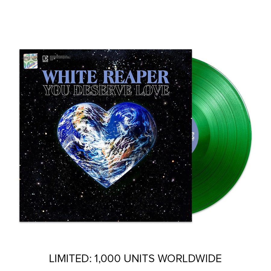 White Reaper - You Deserve Love Exclusive Neon Green Vinyl Limited Edition #1000
