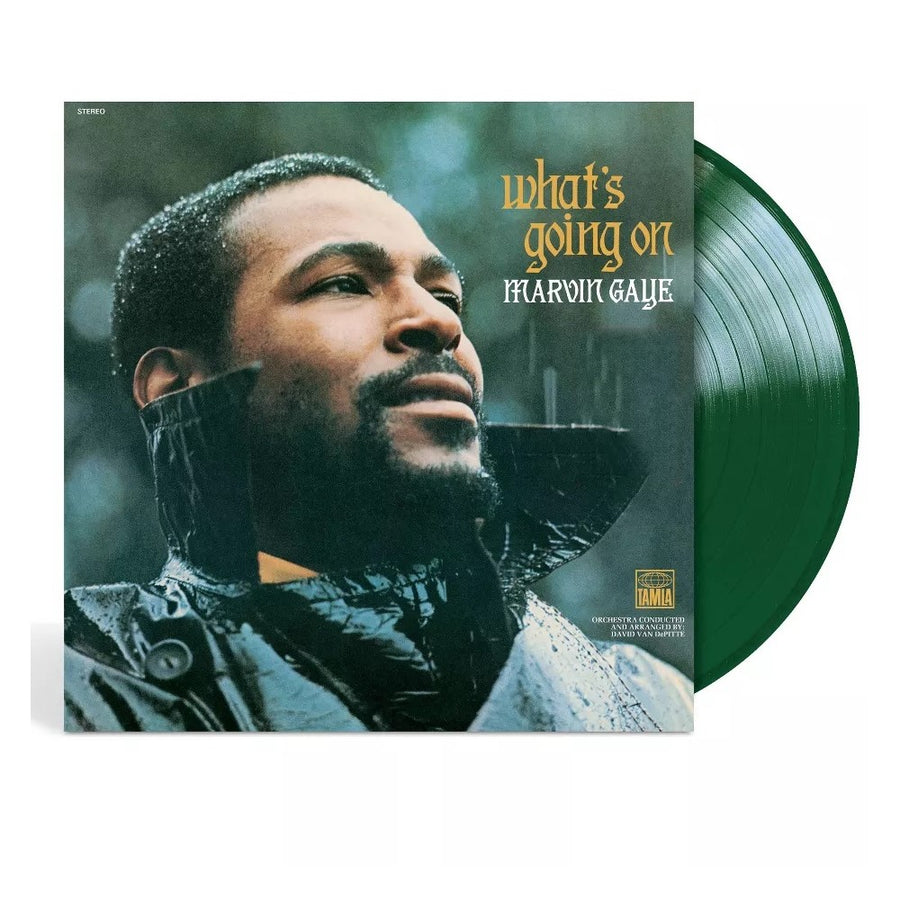 Marvin Gaye - What's Going On Exclusive Translucent Green Vinyl LP Record
