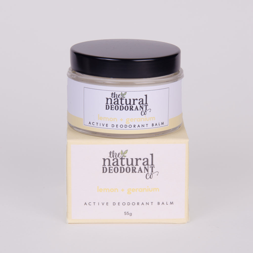 Natural Deodorant (Active) Mint & Eucalyptus