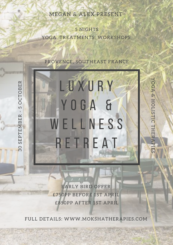 MEGAN & ALEX PRESENT: YOGA & WELLNESS RETREAT - SOUTHEAST FRANCE