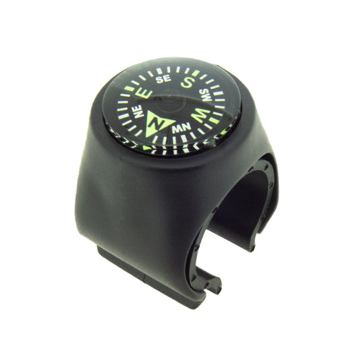 Clip-on Compass for Bicycles
