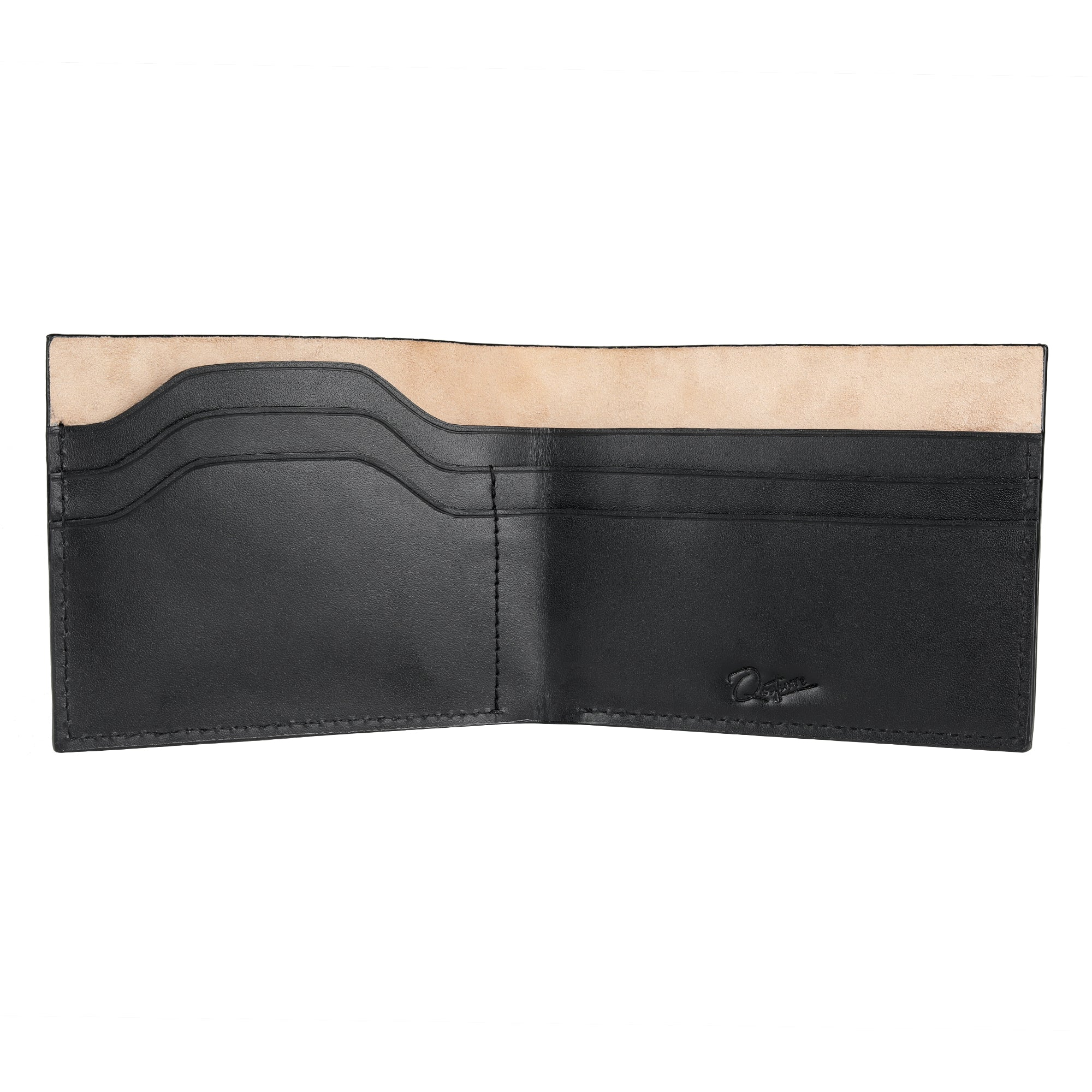 Slim Leather wallet | Luxurious | Black leather wallet