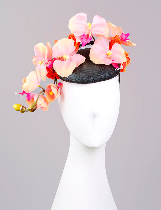 Orchid Branch Fascinator