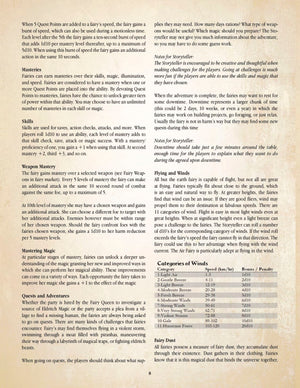 Fairies Roleplaying Game Rulebook - ORDER DEAL