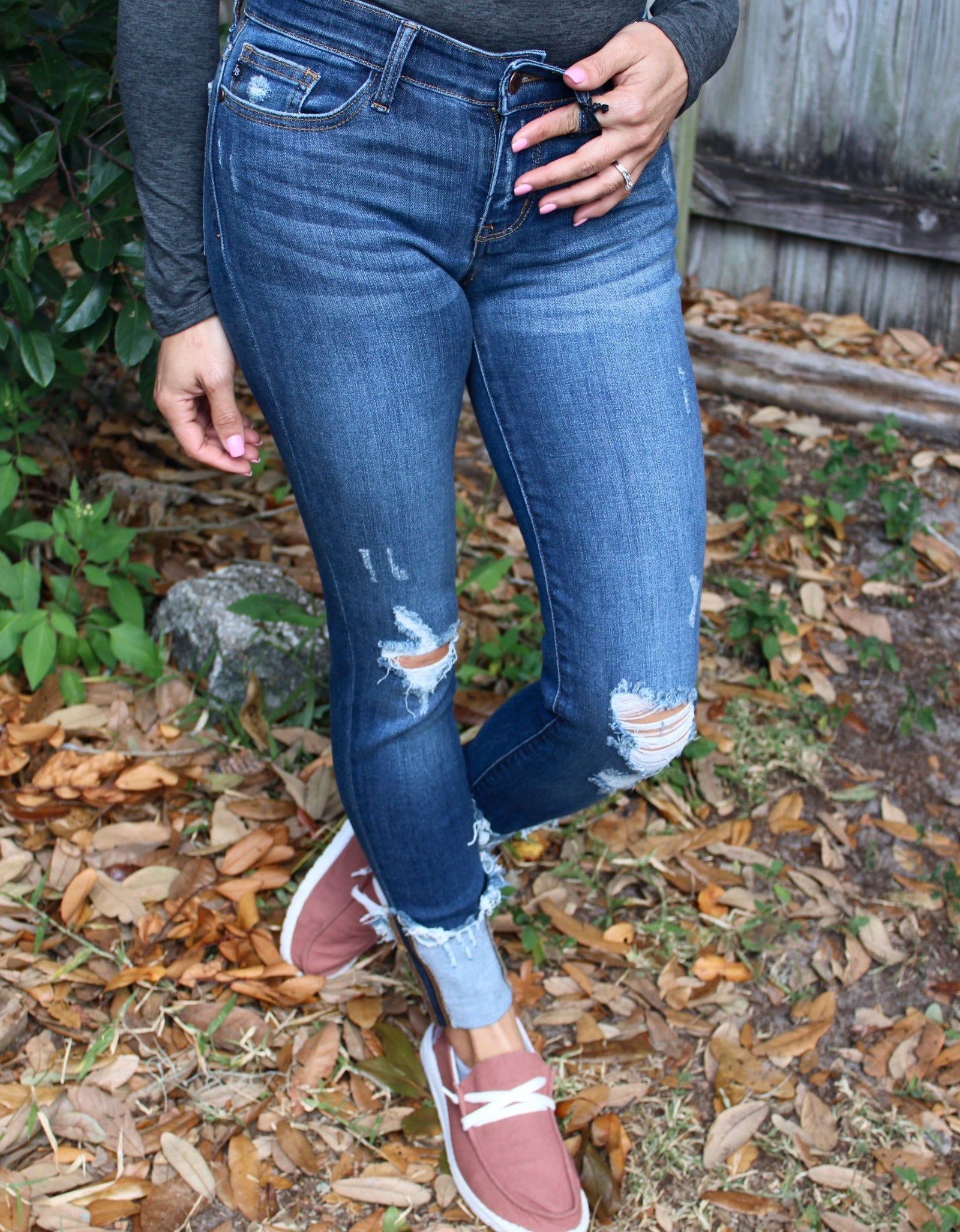 Judy Blue Fat Bottomed Girl Jeans