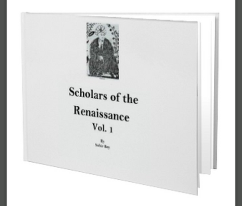 Scholars of the Renaissance Vol. 1 in Black